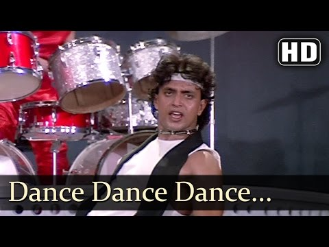 Dance Dance - Dance Dance Is Life - Mithun Chakraborty - Bappi Lahiri Hits