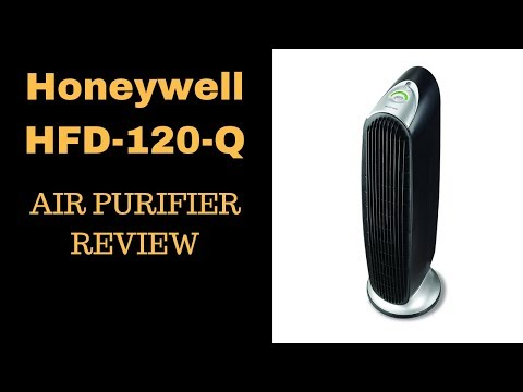 Honeywell HFD-120-Q Review - QuietClean Tower Air Purifier