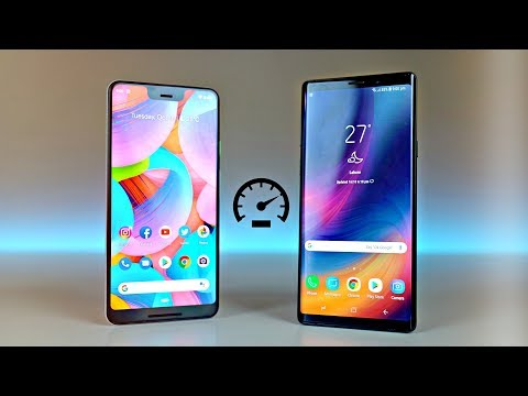 Pixel 3 XL vs Samsung Galaxy Note 9 - Speed Test! Is 4GB RAM Enough?