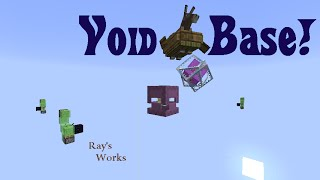Void Base! Living in the Void- Vanilla Survival 1.8 & 1.9 | Ray