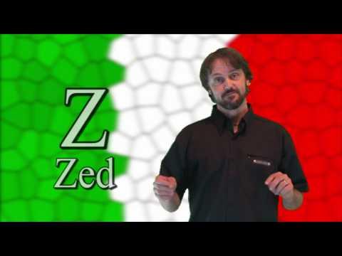 Italian Lessons: 26  The Alphabet - L'Alfabeto