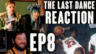 """WE CRY AT MJ's 4TH CHAMPIONSHIP & Reminisce about SPACE JAM // """"The Last Dance"""" Ep 8 Reaction!"""