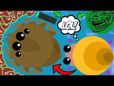 SNAIL KILLS GIANT SPIDER MOPE.IO!! BRUTAL TROLLING KILLS / DESTROYING ALL ANIMALS (Mope.io Gameplay)