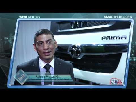 Tata Motors AutoExpo 2016: Rajesh Prasad Giri, VP – Sipradi Trading Pvt. Ltd, Nepal.