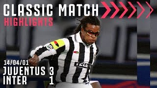 Juventus 3-1 Inter | Tacchinardi, Inzaghi & Del Piero Score in the Derby! | Classic Match Highlights