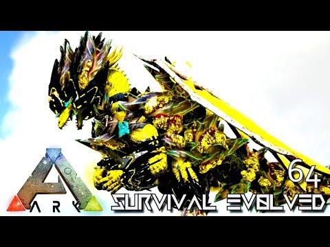 ARK: SURVIVAL EVOLVED - NEW TEK DRAGON EMPEROR FOREWORLD MYTH !!! E64 (MODDED ARK EXTINCTION CORE)