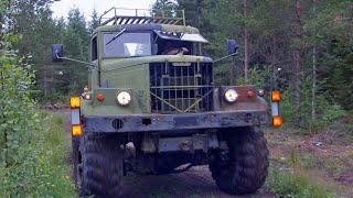 KrAZ 6x6, Neuvostoliittolainen maastokuorma-auto