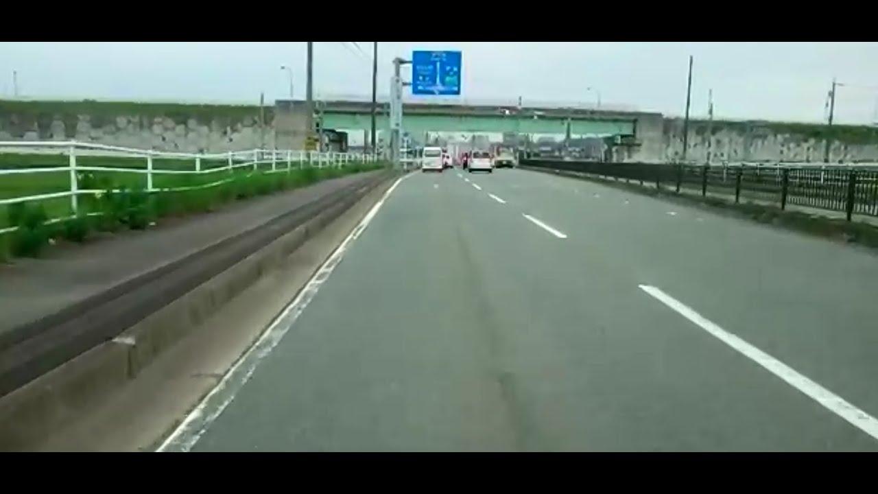 三重県津市県道10号線(津関線)の...