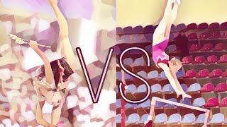 Сравнение спортивной и художественной гимнастики||С UvAnas _Ju