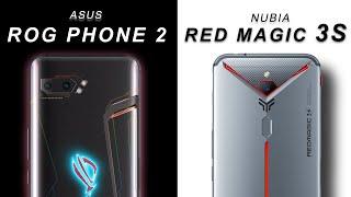 Asus ROG Phone 2 vs Red Magic 3s  - Full Comparison Hindi
