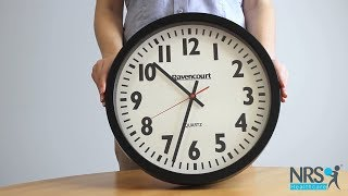 Large Easy To See 14 inch Wall Clock Review
