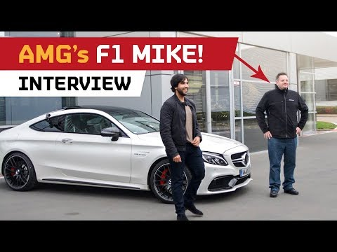 AMG Engine Builder - Michael Kübler! Interview in his C63S!