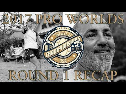 2017 PDGA Pro Worlds - Day 1 Recap - Live from International Disc Golf Center