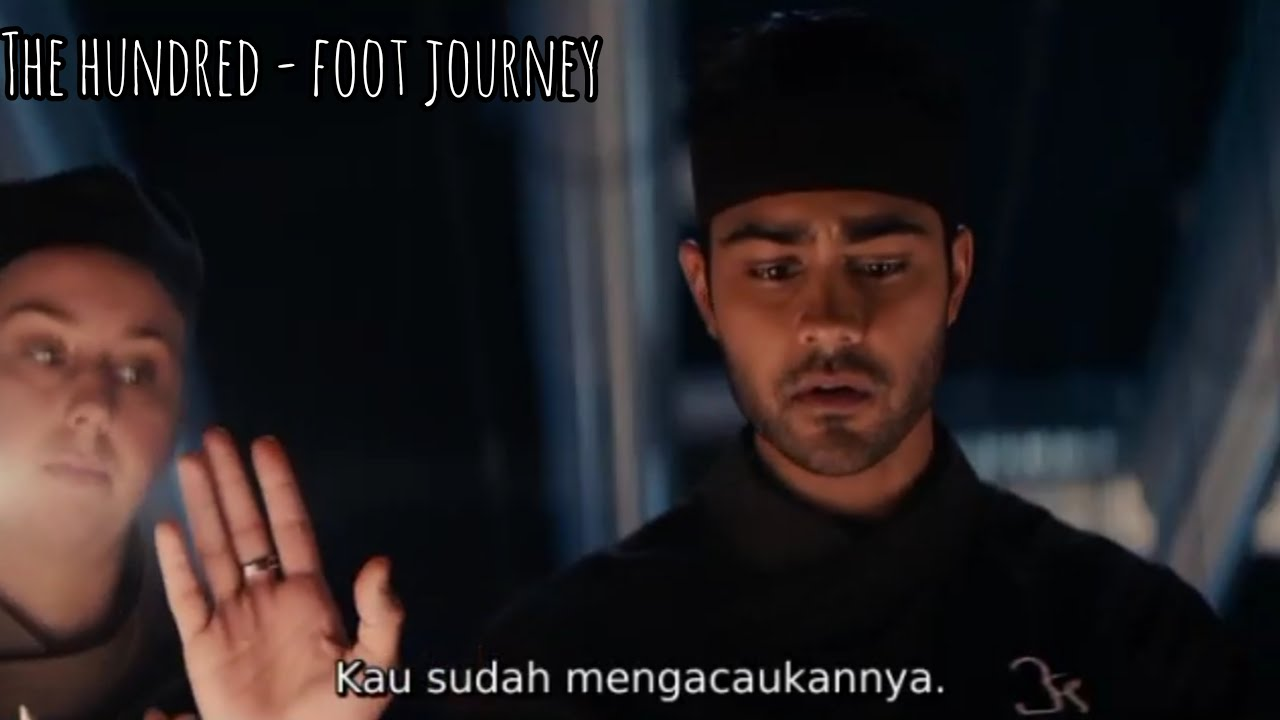 Download THE HUNDRED FOOT JOURNEY FULL MOVIE SUB INDO - KISAH PERJUANGAN CHEF MENDAPATKAN BINTANG MICHELIN