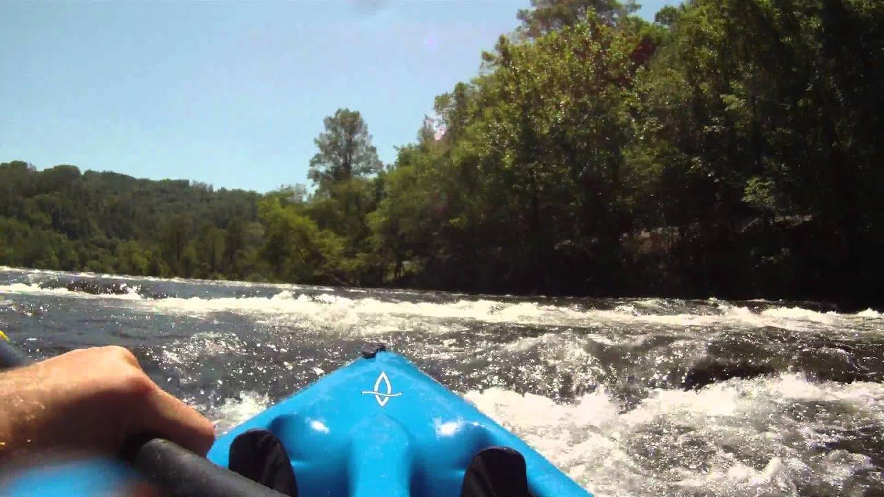 Kayaking Down Hiwassee River W GoPro HD