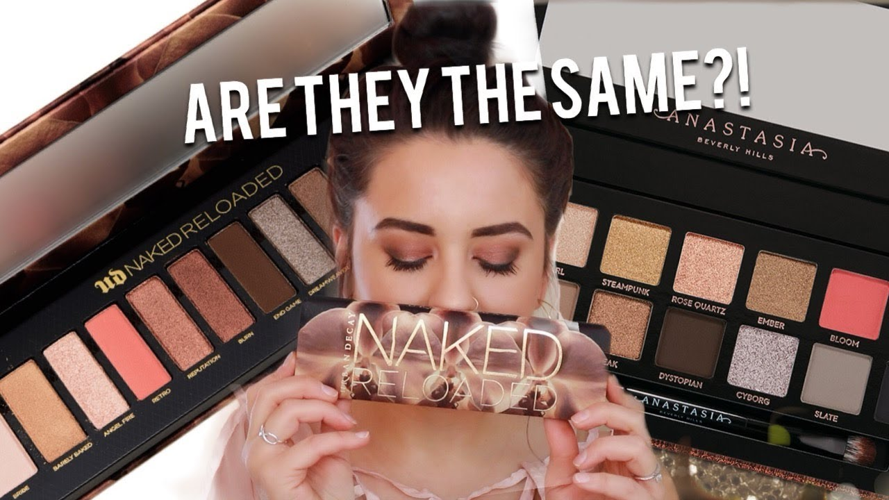 UD Naked Reloaded Palette swatches   ommorphia beauty bar