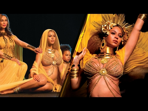Beyonce SLAYS 2017 Grammys Performance with Baby Bump, Boobs and ALL, Brings Instagram Photo to Life
