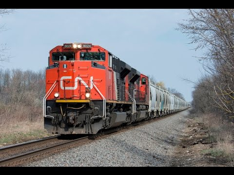 Wisconsin Railfanning-Candian Pacific, Canadian National, Amtrak, and More!