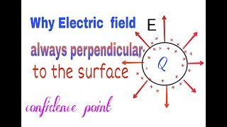 Video why electric field is always perpendicular to the surface ( hindi) || confidence point download MP3, 3GP, MP4, WEBM, AVI, FLV Juli 2018