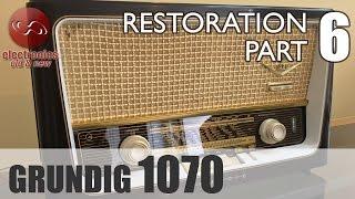 Grundig 1070 tube radio restoration - Part 6. Another radio brought back to life. Job done.