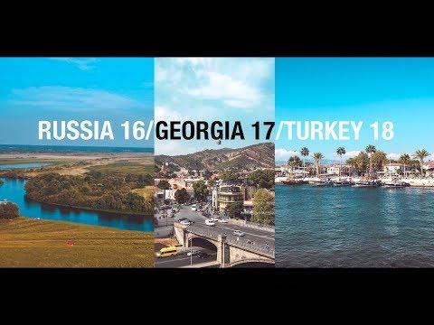 RUSSIA 16/GEORGIA 17/TURKEY 18