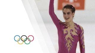 Katarina Witt Wins Gold - Sarajevo 1984 Winter Olympics