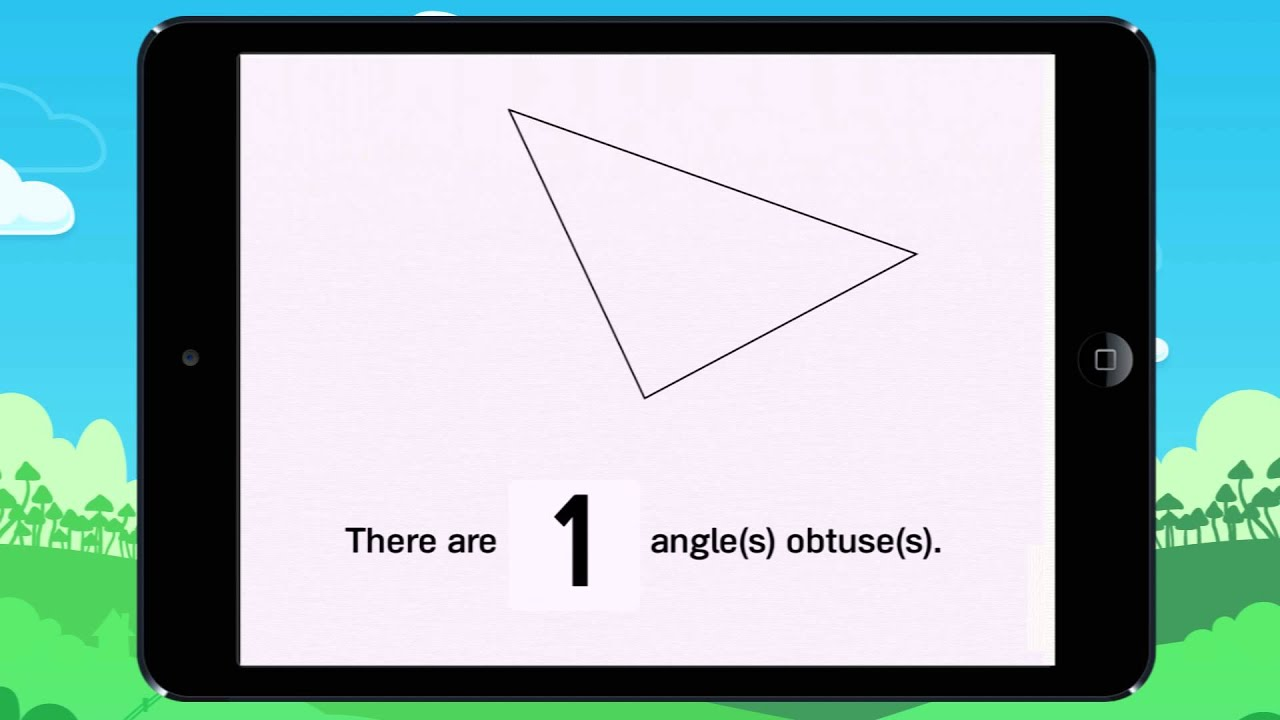 Counting the right, acute & obtuse angles! Example 3