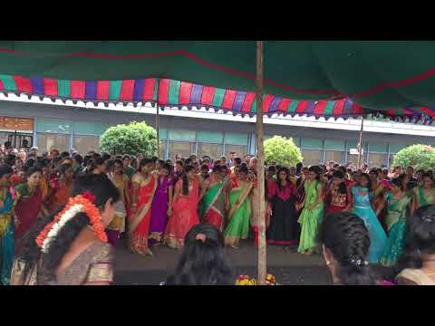 Ecil bathukamma at 27-09