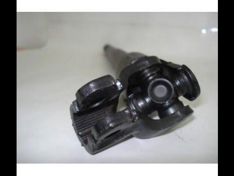 Citroen Xantia замена крестовины рулевого кардана