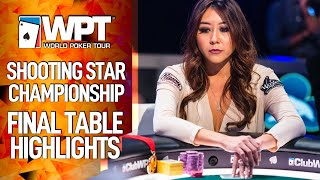 Shooting Star Final Table Highlights WPT Championship $1,3M to 1st
