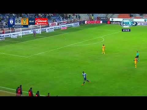 Gol de R. De La Rosa | Pachuca 1 - 0 Tigres | Liga MX - Guard1anes 2021  - Jornada 12 | LIGA BBVA MX