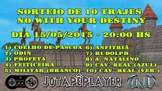 [WYD BR] SORTEIO DE 10 TRAJES - WITH YOUR DESTINY (WYD) - MALECH