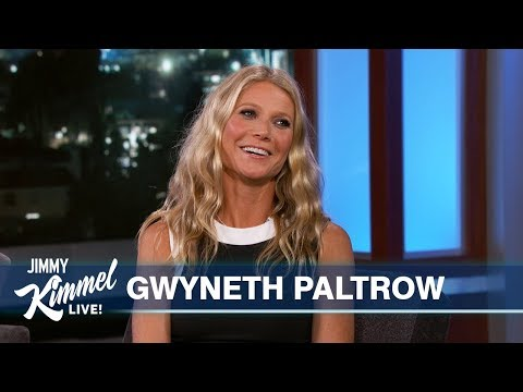 Gwyneth Paltrow on Moving in with Husband Spider-Man The Politician & Strange GOOP Products