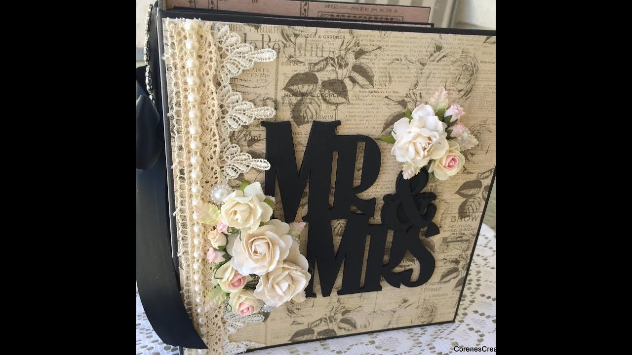 Another Chunky Wedding Album! Prima! Wild Orchid Crafts