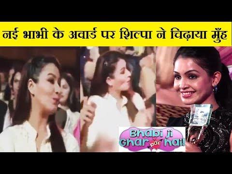 Shilpa Shinde Reaction on Shubangi Receiving Best Actress Award   SAB TV SHOW