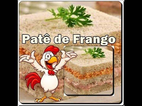 🍲🍗🍲Patê de Frango Maravilhoso com Déby & Ian🍲🍗🍲