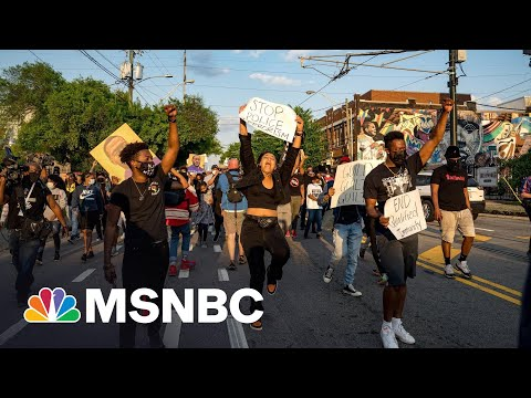 Republican Bills Attack Protest Rights; Wink At Running Over Protesters | Rachel Maddow | MSNBC