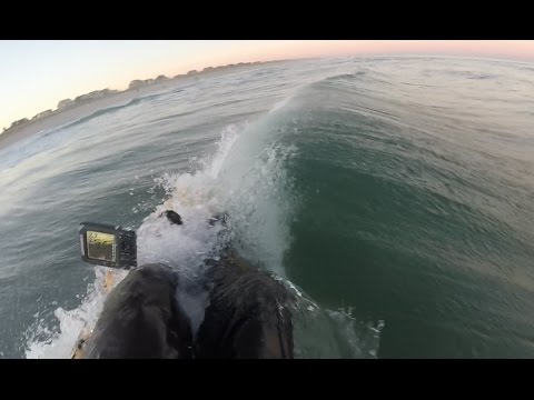 Ocean Kayak Fishing Isn't Fun Anymore..