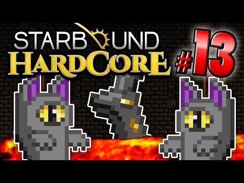 Starbound HC! - UNDERGROUND CASTLE (Part 13)