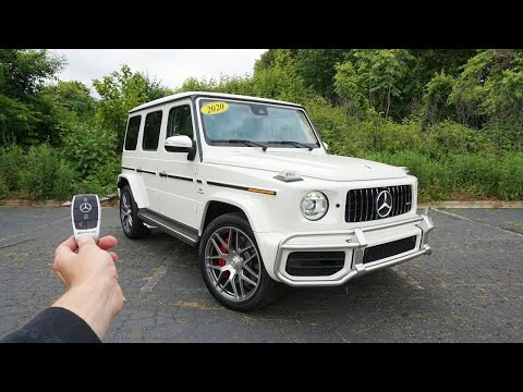 2020 Mercedes Benz G63 AMG: Start Up, Exhaust, Test Drive And Review