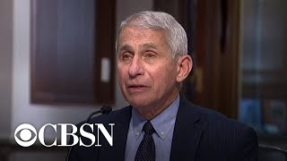 Dr. Fauci hopeful about COVID vaccine, but warns there's no guarantee