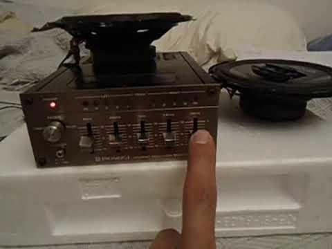 ecualizadores pioneer vintage