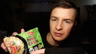 White American Guy Trying Filipino Snack Foods - Lucky Me Pancit Canton Noodles Review