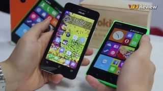 VnReview - Đánh giá nhóm: Nokia X2 và Asus ZenFone 4 A450