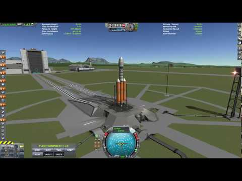 KSP - Sentinel Telescope Launch