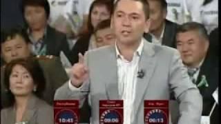 Теледебаты: Омурбек Бабанов vs. Камчыбек Ташиев