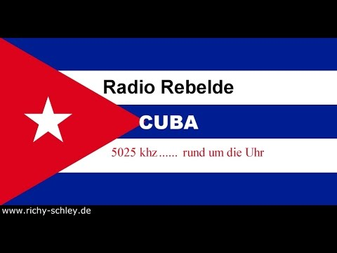 Radio Rebelde Cuba 5025 khz shortwave received in Germany