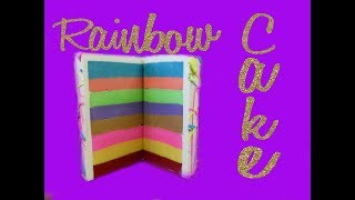 Rainbow Soap Cake - Showcase How To
