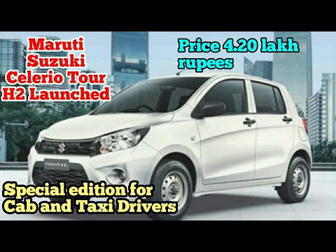 Maruti Suzuki Celerio Tour H2 Launched In India At Price 4 20 Lakh