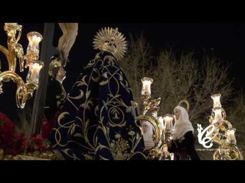 Misterio de las Siete Palabras de Sevilla por el andén del ayuntamiento | Semana Santa 2016